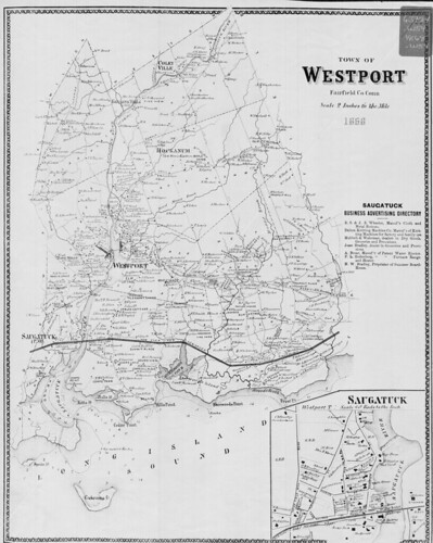 Town of Westport, Fairfield Co. Conn. (Petersen Collection) | by uconnlibrariesmagic
