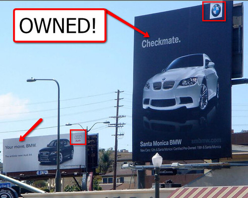 Who Owns Audi >> Bmw Owns Audi Checkmate Audi Theleetgeeks Flickr