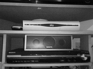 Home Entertainment - The Sky decoder and Sony Home Theatre ...