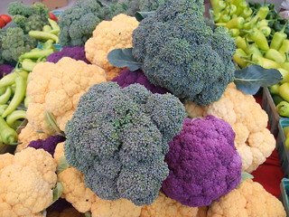 Purple and Orange Cauliflower and Broccoli | by swampkitty