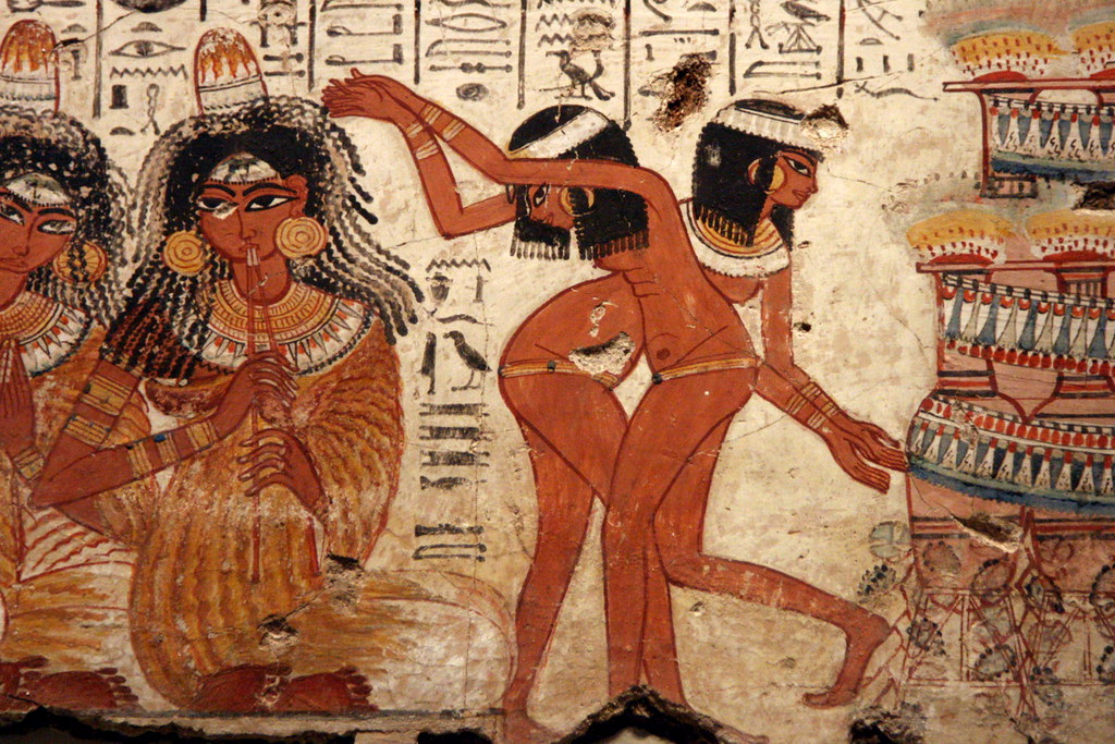 Egyptian Dancing Girls   The young dancers are sinuously dra…   Flickr