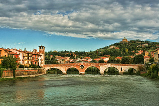 Ponte di Pietra, Verona Italy | by sminky_pinky100 (In and Out)