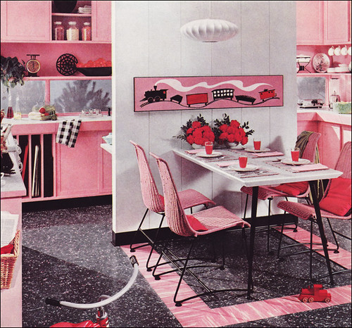 Vintage Kitchen Photography: Mid Century Kitchen Design
