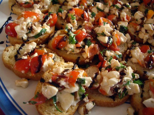 Tomato Mozarella Bruschetta from ?? | by swampkitty