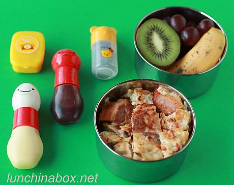Okonomiyaki bento lunch for preschooler | by Biggie*