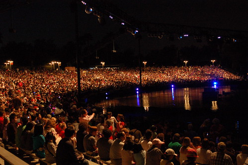 crowd for fantasmic | by jkenning