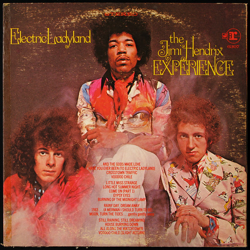 Jimi Hendrix Experience - Electric Ladyland (back cover) | by ubbu