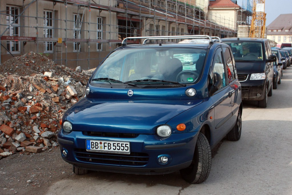 FIAT Multipla - The ugliest car i know | Andy_BB | Flickr