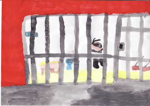 Jail cell painting | by ABN2