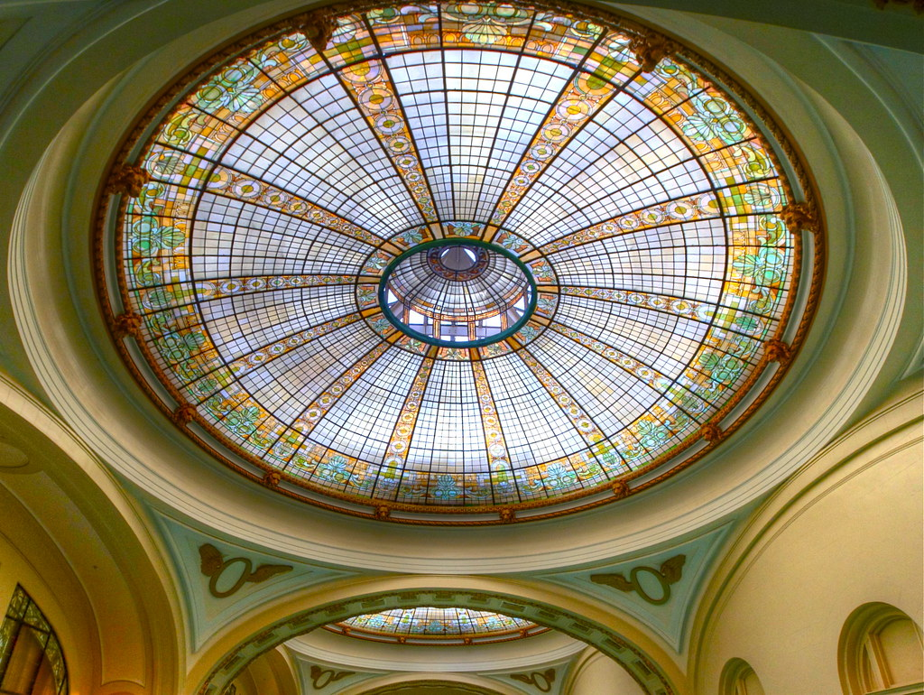 olympic club pool dome the stained glass domes over the po u2026 flickr
