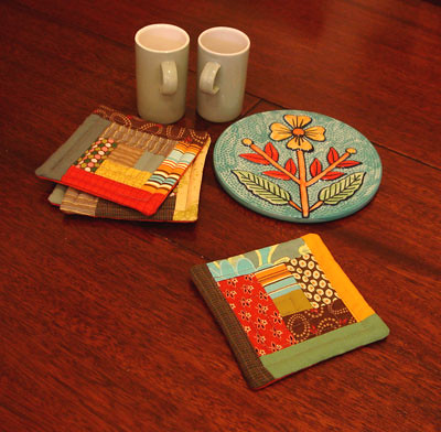 New Patchwork Coasters | by Jules Madden