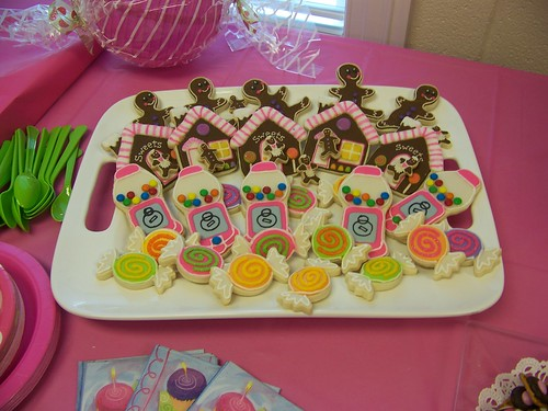 Candy Themed Cookies | by Polka-dot Zebra
