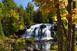 Bond Falls Autumn Splendor Landscape | by Lifeinthenorthwoods.com