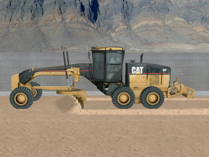 Cat Simulators Motor Grader Training Exercise Square Trac
