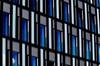 Blue and Aqua Facade | by J e n s