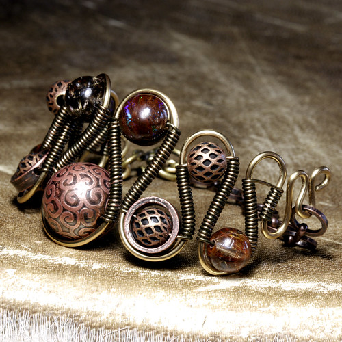 steampunk Jewelry made by CatherinetteRings