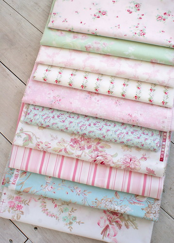 Rachel Ashwell Shabby Chic fabric | by nanaCompany