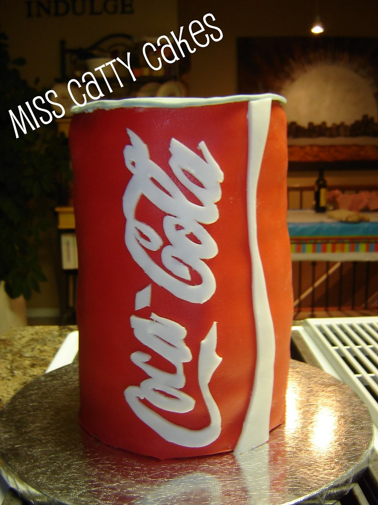 Pats Coca Cola Birthday Cake Miss Catty Cakes Cake Design Flickr