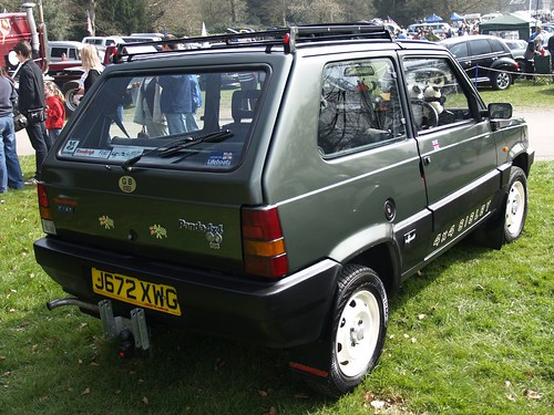 Fiat panda sisley 4x4 1991 fiat panda sisley 4x4 for Fiat panda 4x4 sisley usata