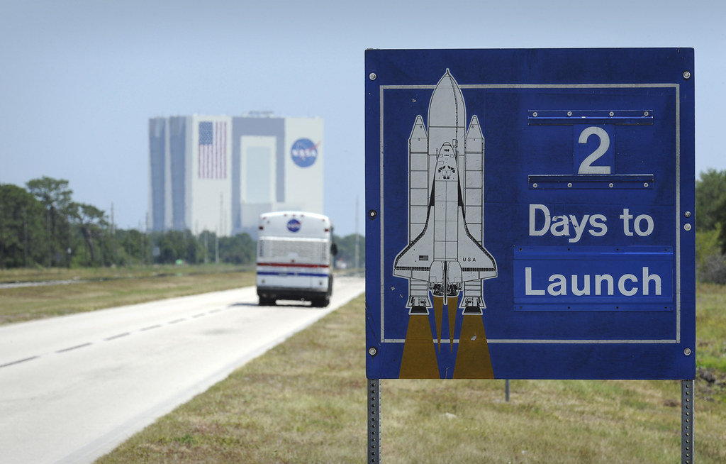 STS-125 Two Days To Launch (200905090001HQ) (explored) | Flickr
