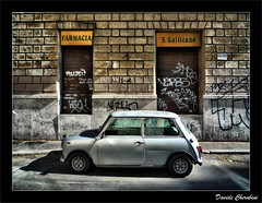 Mini Cooper Bianca | by Davide Cherubini
