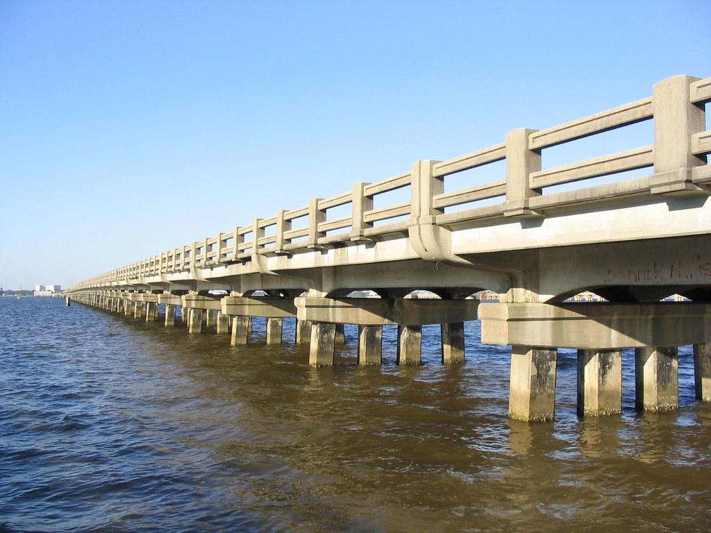 BiloxiOcean Springs Bridgeold US Biloxi Mississippi Flickr - Hwy us 90 mississippi map