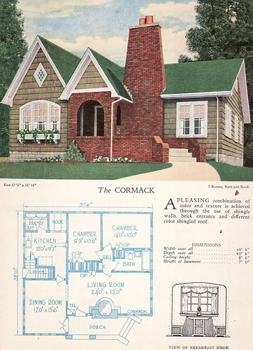 1928 Home Builders Catalog The Cormack From The