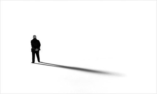 a shadow of one's former self | by petepics.de