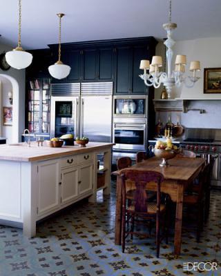 Dark Kitchen At Night dark kitchen cabinets: benjamin moore 'night shade', from … | flickr