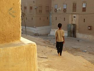Returning ~ Shibam, Yemen Yemen