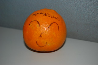 happiness is an orange | by Sr gato