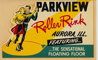 Parkview Roller Rink - Aurora, Illinois | by The Cardboard America Archives