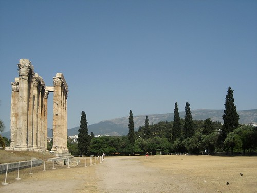 Athens- Temple of Zeus 2009
