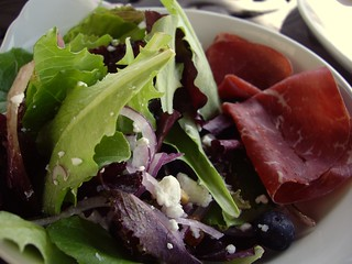 Mixed Green Salad with Bresaola | by swampkitty