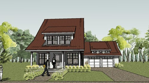 Bayport cottage house plan animation house designed by ron flickr malvernweather Image collections