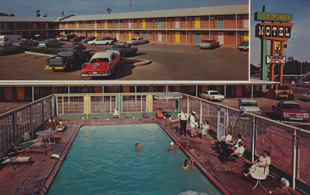 Plainsman Motel and Restaurant - Amarillo, Texas