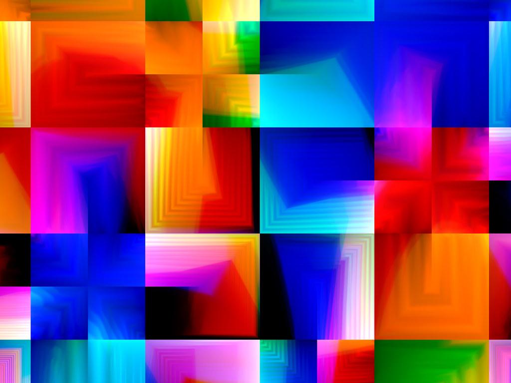 Squares of vivid color | Marco Braun | Flickr