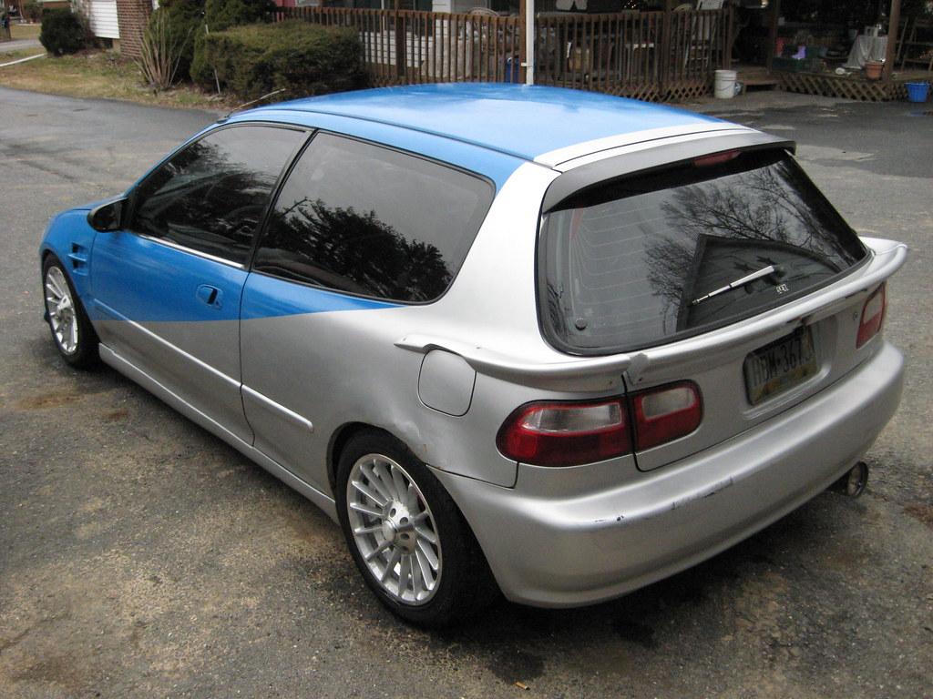 ... 1992 Honda Civic Hatchback   By Autoshark77