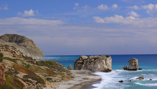 Cyprus - Petra tou Romiou - The Rock of Aphrodite | by madbesl