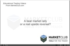 Bear Market Rally? | by sunsfinancial