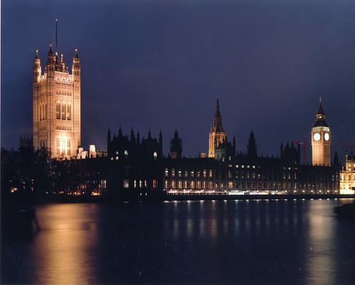 Palace of Westminster - night view | by UK Parliament