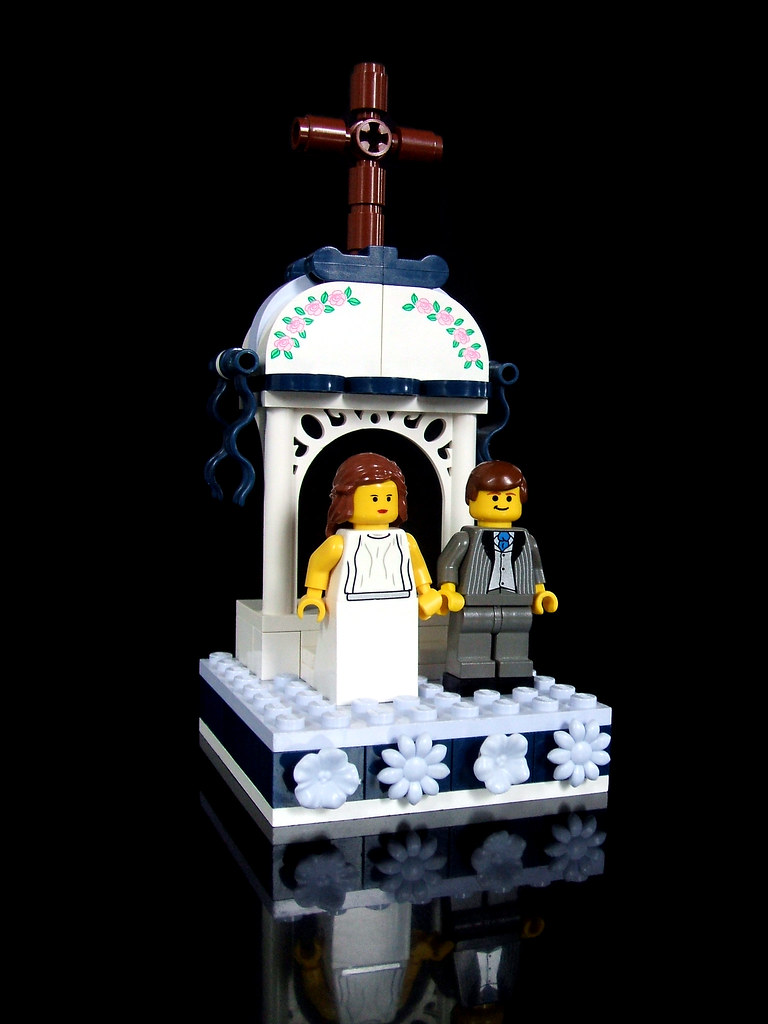 lego wedding cake topper final scene of 5 see it on th u2026 flickr