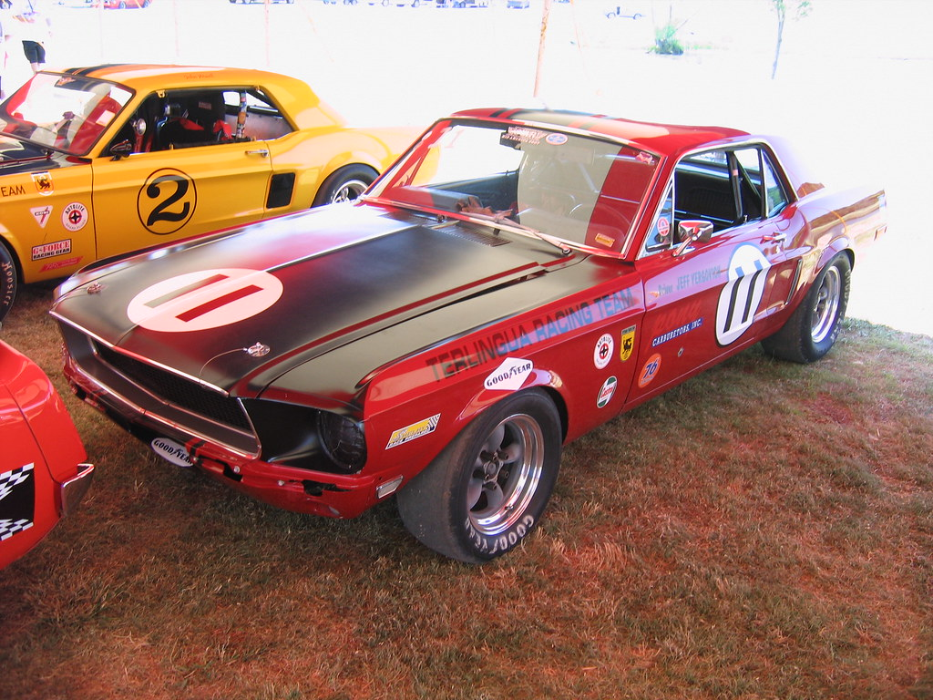 Mid America Ford and Team Shelby - Vintage Trans Am Tent -… | Flickr