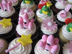 Pink Princess Birthday Cupcakes | by clevercupcakes