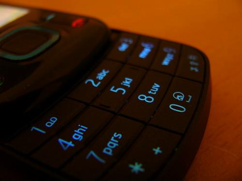 Nokia 6600 Slide, Clavier, Clavier