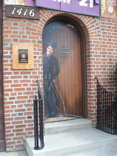 ... Charlie Chaplin Studio Plaque and Door | by Amtrekker & Charlie Chaplin Studio Plaque and Door | Brett Rounsaville | Flickr