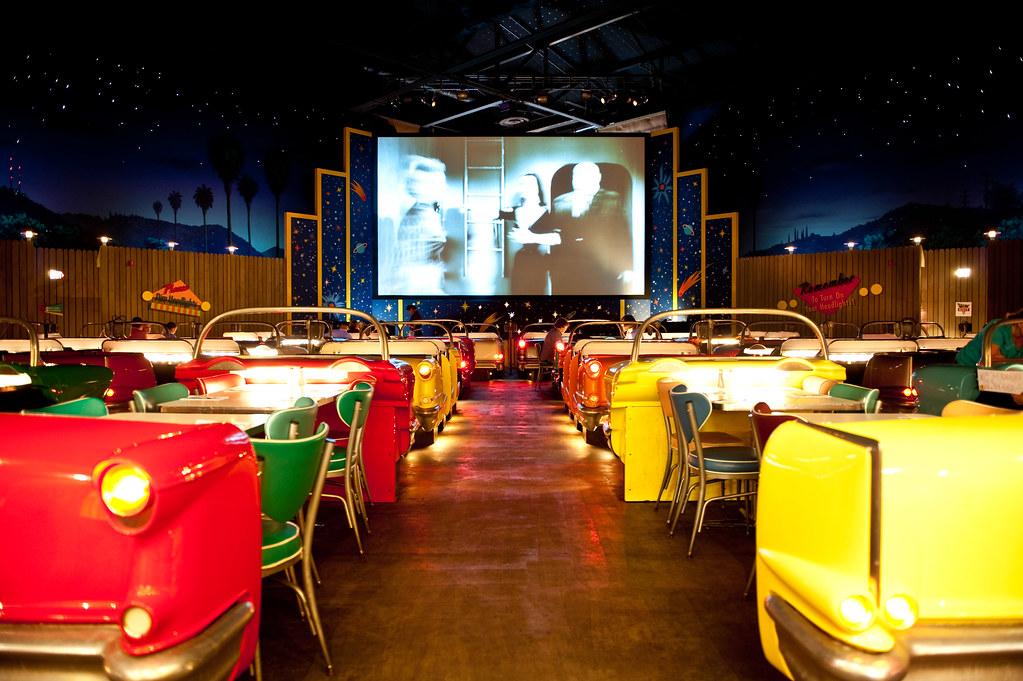 Sci Fi Drive In Diner Disneys Hollywood Studios By Hyku