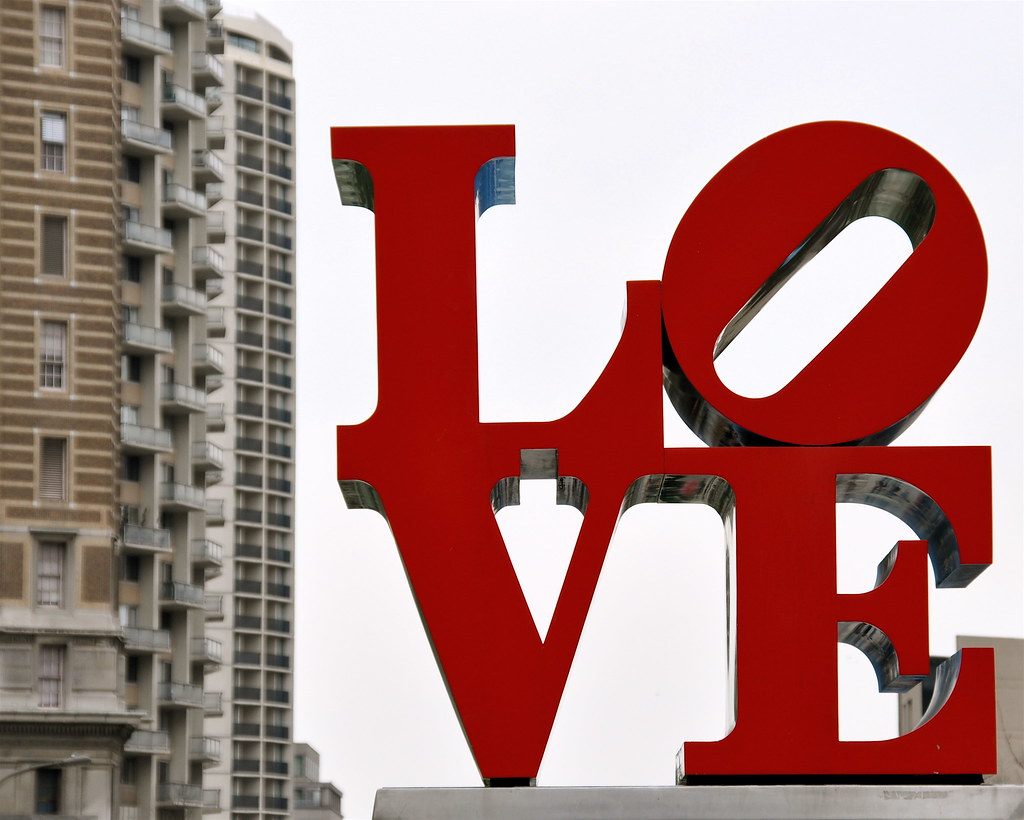 LOVE Sculpture | Pics4Learning