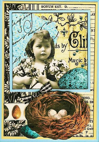 ATC - Easter Medley ~traded~ | by Nostalgic Collage