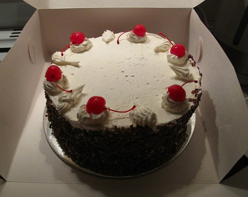 Cake Black Forest Birthday : Birthday Black Forest Cake bought a black forest ...